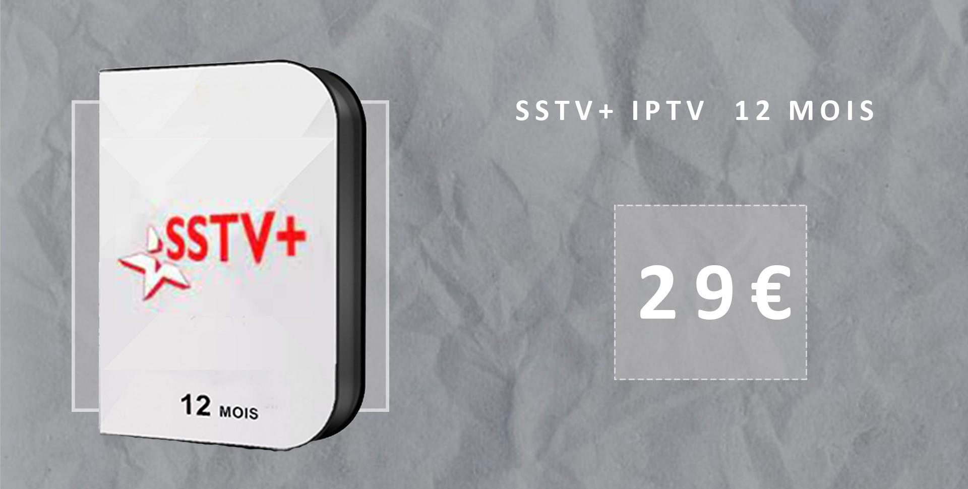 Abonnement sstv+ iptv